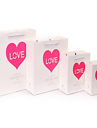 dom sacos sacos de presente por atacado nova moda simples amar para sempre saco CB15