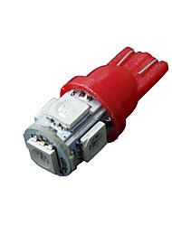 10 x rot t10 5-SMD 5050 LED Innenlampen w5w 2825 158 192 194 168