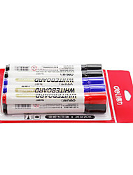 Whiteboard Special Pen Red Blue Black Can Wipe Office Supplies A Box Of 7 Black 2 Blue 1 Red