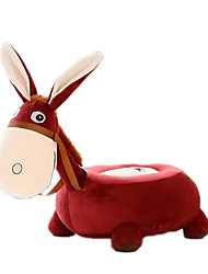 Children's Cartoon Plush Donkey Baby Beanbag Chair