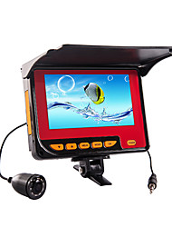"""30M Underwater Fishing Camera Fish Finder Ice Fishing Camera HD 1000 TVL 4.3"""" Digital Screen  with Cover721-30"""