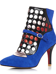 Women's Boots Fall / Winter Heels / Fashion Boots  / Gladiator / Comfort / Novelty / Styles / Pointed Toe / Closed  /