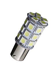 10x холодный белый 1156 BA15S 27-SMD 5050 LED Light резервного копирования луковицы обратного 7506 одна тысяча сто сорок один