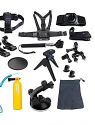 Accessories For GoPro,Protective Case Monopod Tripod Screw Buoy Suction Cup Straps Mount/Holder All in One Convenient, For-Action Camera,