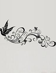 Wall Stickers Wall Decals Style Fly Bird Silhouette PVC Wall Stickers