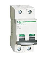 Tipo de aire protector de interruptor diferencial (disyuntor de corriente nominal: 6a, tensión nominal: 400 (v))