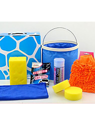 Seven Sets Of Car Cleaning Kit Home Car Washing Supplies Automotive Beauty