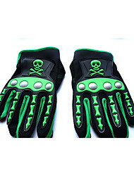 The New Style of The Individual Skeleton Head Full of Men's Motorcycle Racing Bike Riding Outdoor Gloves