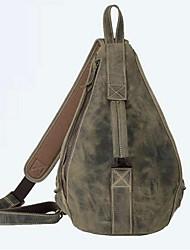 муж. Слинг сумки на ремне Полиуретан Спорт Военно-зеленный Хаки