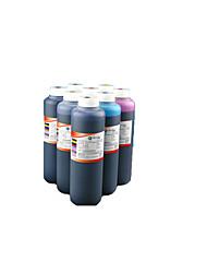 encre hp1510 1050 1010 4518, un pack de 4 couleurs, noir, rouge, jaune, bleu, 500ml / bouteille
