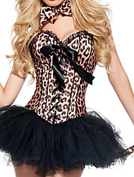 Costumes Animal Costumes Halloween/Christmas/Carnival Black Leopard Skirt/Pants/Zentai/Tail/Tie/Headwear