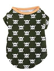 Creative Skulls Pattern Pet T-Shirt
