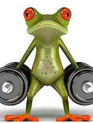 3D Stereoscopic Cartoon Frog Funny Car Stickers Personalized Car Stickers Gecko Car Stickers Realistic