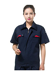 Short-sleeved Summer  Anti-static Works Clothing  Size XL
