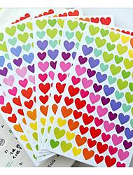 corée du sud points de couleur amour drôle autocollants / amour / album sticker décoratif étoiles