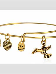 Hummingbird Pendant Bracelet