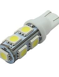6 Stück weißen t10 9-SMD 5050 LED Kennzeichenleuchte Glühlampe W5W 2825 194 192 168 12v