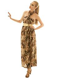 joannekitten женские способы полоснул печати макси платье