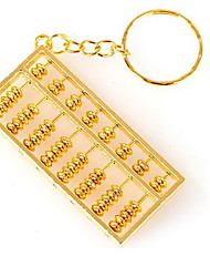 Pure Copper Abacus Pendant Key Chain Pendant Decoration