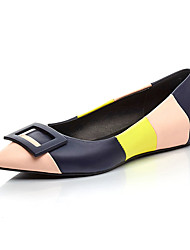 Women's Flats Spring / Summer / Fall Comfort / Gladiator / Styles / Pointed Toe / Closed Toe / Flats Leather / MicrofibreOffice & Career