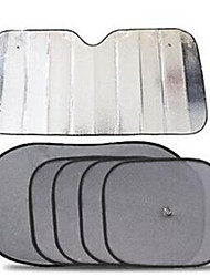 Car Sun Block Before And After The Side Windows Suction Type Double Thick Heat Insulation Aluminum Foil