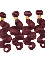 Menschenhaar spinnt Peruanisches Haar Große Wellen 12 Monate 1 Stück Haar webt