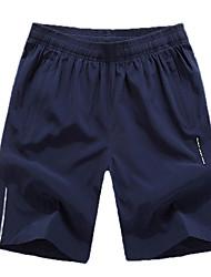 Course / Running Short baggy Homme Respirable / Confortable Polyester Course/Running Sportif non élastique Ample Vêtements de Plein Air