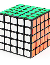 Shengshou® Smooth Speed Cube 5*5*5 Speed / Professional Level Magic Cube Black Smooth Sticker Anti-pop / Adjustable spring ABS