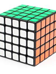 Shengshou® Гладкая Speed Cube 5*5*5 Скорость / профессиональный уровень Кубики-головоломки черный увядает Гладкая наклейкиРегулируемая
