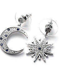 Earring Star Drop Earrings Jewelry Women Fashion Daily / Casual Copper 1 pair Silver