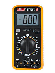 FUKE5 A Level Full Protection Against Burn Digital Multimeter Large Number of Screen Display (DT9205)