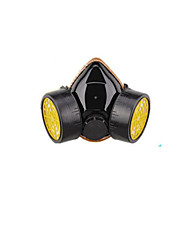 Dual Canister Activated Carbon Gas Mask(Model: K-5039,[Material]: PVC/TPR.)