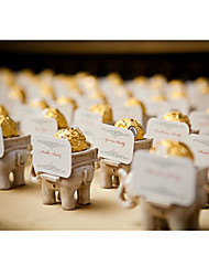 1Piece/Set Favor Holder Lucky Elephant Ferriero Candy Holder, Place Card Holder DIY Wedding décor