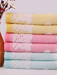 Waschtuch-100% Baumwolle-Stickerei-25*50