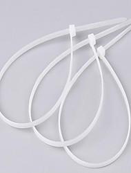 fascette di nylon autobloccanti 4 * 250 millimetri /3.6*250 gb cavo ambientale fascetta bianca