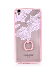 Ring Holder / Ultra-thin / Frosted /  Translucent / Embossed / Pattern Lace Printing TPU for iPhone 6/6s/6plus/6s plus