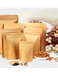 11*18.5cm Self Kraft Paper Bag Composite Aluminum Foil Bag Packaging Moisture-Proof Sealed Bag