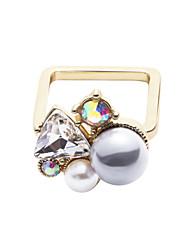 Ringe Modisch / Stil Normal Schmuck Aleación Damen Mittelfingerring 1 Stück,Eine Größe Goldfarben