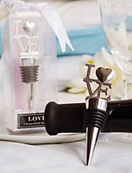 Beter Gifts® Recipient Gifts - 1Piece/Set Sweetheart Bottle Stopper Practical Barware Tool Wedding Souvenirs