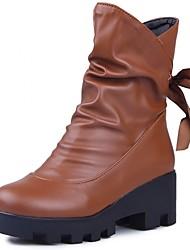 Feminino-Botas-Coturno / Botas de Cowboy / Botas de Chuva / Botas de Neve / Botas Cano Curto / Botas Montaria / Botas da Moda / Botas de