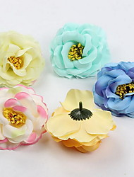 Simulation Floral Small Roses Cloth Wreath Accessories Beautiful Artificial Flowers (Random Color)