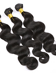 3pieces Brazilian Body Wave hair bundles 7A 100g Unprocessed Brazilian Virgin Hair Body Wave Brazilian human Hair