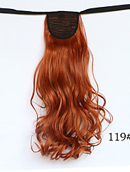 NEW Lady's Ponytail Hairpieces Synthetic Hair Long Wavy Ribbon Ponytail Hair Extensions Natural Black
