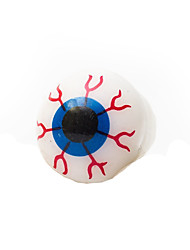 Halloween Glowing Eyeball Style Decoration Silicone Ring