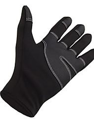 лыжные перчатки Зимние Все Спортивные перчатки Сохраняет тепло / Водонепроницаемый / Ветронепроницаемый Перчатки Катание на лыжахХолст /
