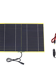 10W 18V Portable Monocrystalline Solar Panel Car Automobile Rechargeable Power Battery Charger (SWB1018C)