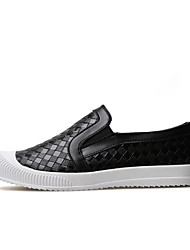 Men's Fashion Loafers & Slip-Ons Casual/Travel/Youth Microfibre Board Woven Shoes