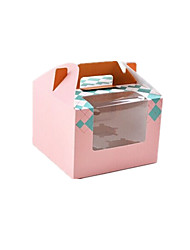 X03 Pink Color Packaging & Shipping Food Packaging Box A Pack of Nine