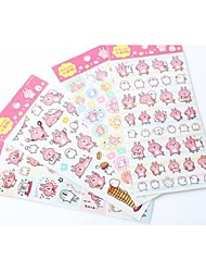 Wedding /Birthday Scrapbooking & Stam 1set Stickers Multi color