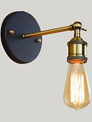 AC 100-240 40 E26/E27 Rustique/Campagnard Laiton Antique Fonctionnalité for Ampoule incluse,Eclairage d'ambiance Chandeliers muraux